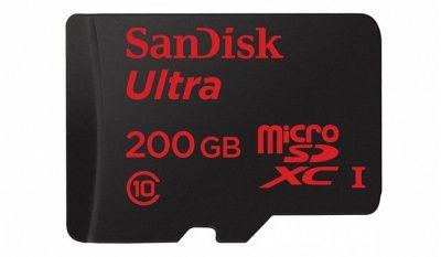 200 Гб памяти стали уже доступны на картах памяти MicroSD